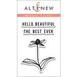 Altenew - Clear Acrylic Stamps - Meadow Flower