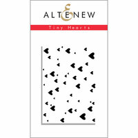 Altenew - Clear Photopolymer Stamps - Tiny Hearts