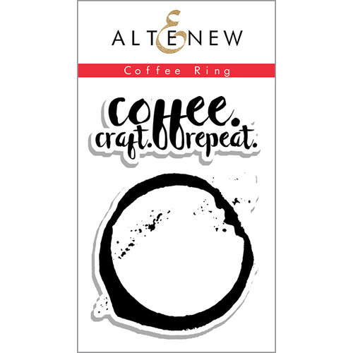 Altenew - Clear Photopolymer Stamps - Coffee Ring