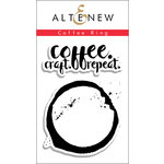 Altenew - Clear Acrylic Stamps - Coffee Ring