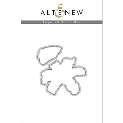 Altenew - Dies - Layered Lily