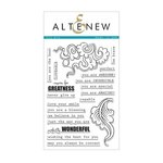 Altenew - Clear Photopolymer Stamps - You Are