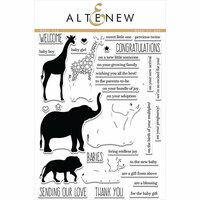 Altenew - Clear Photopolymer Stamps - Baby Zoo