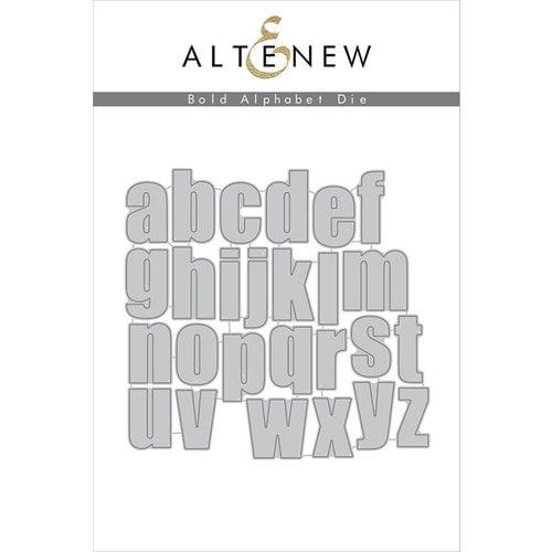 Altenew - Dies - Bold Alphabet