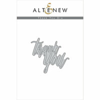 Altenew - Dies - Thank You