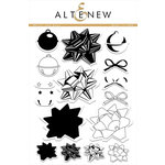 Altenew - Clear Acrylic Stamps - Bells and Bows