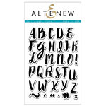 Altenew - Clear Photopolymer Stamps - Calligraphy Alpha - Uppercase