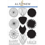 Altenew - Clear Acrylic Stamps - Geometric Flowers
