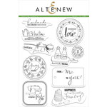 Altenew - Clear Acrylic Stamps - Sewing Labels