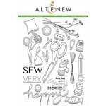 Altenew - Clear Acrylic Stamps - Sew Very Happy