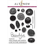 Altenew - Clear Acrylic Stamps - Simple Flowers