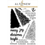 Altenew - Clear Acrylic Stamps - Sketched Evergreen