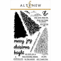 Altenew - Clear Photopolymer Stamps - Sketched Evergreen