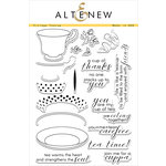 Altenew - Clear Acrylic Stamps - Vintage Teacup
