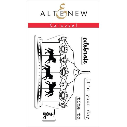 Altenew - Clear Photopolymer Stamps - Carousel