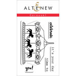 Altenew - Clear Acrylic Stamps - Carousel