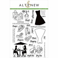 Altenew - Clear Photopolymer Stamps - Ladies' Day Out