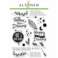 Altenew - Clear Photopolymer Stamps - Happy Dreams