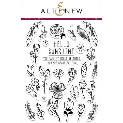 Altenew - Clear Photopolymer Stamps - Hello Sunshine