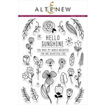 Altenew - Clear Acrylic Stamps - Hello Sunshine