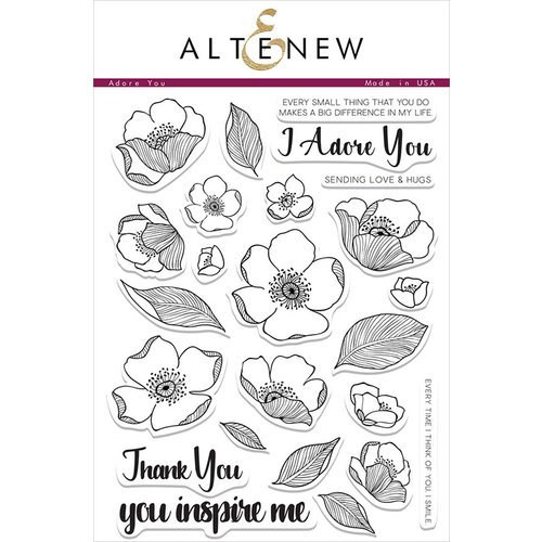 Altenew - Clear Photopolymer Stamps - Adore You
