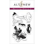Altenew - Clear Acrylic Stamps - Morning Glory 2