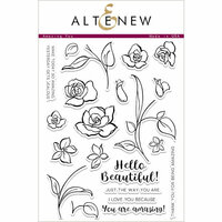 Altenew - Clear Photopolymer Stamps - Amazing You