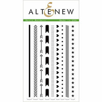 Altenew - Clear Photopolymer Stamps - Basic Borders