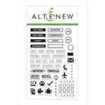 Altenew - Clear Acrylic Stamps - Basic Headers