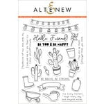 Altenew - Clear Photopolymer Stamps - Be Strong