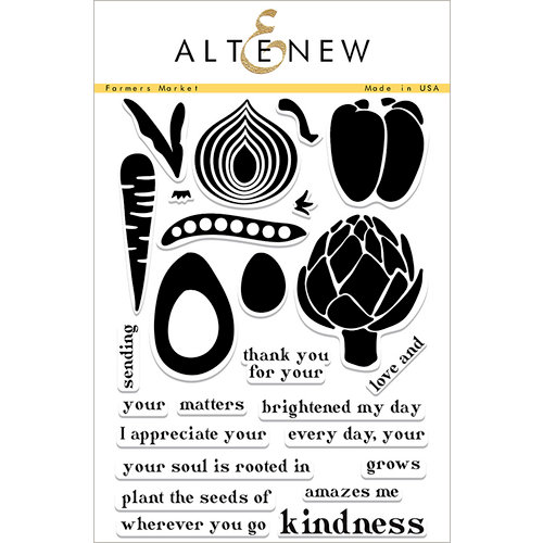 Altenew - Clear Photopolymer Stamps - Farmers Market