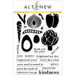 Altenew - Clear Acrylic Stamps - Farmers Market