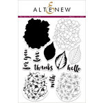 Altenew - Clear Photopolymer Stamps - Garden Hydrangea