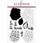 Altenew - Clear Acrylic Stamps - Garden Hydrangea
