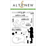 Altenew - Clear Acrylic Stamps - Let the Wind Carry You