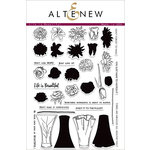 Altenew - Clear Acrylic Stamps - Life is Beautiful