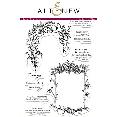 Altenew - Clear Acrylic Stamps - Recollections