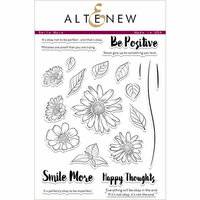 Altenew - Clear Photopolymer Stamps - Smile More