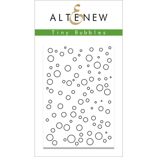 Altenew - Clear Photopolymer Stamps - Tiny Bubbles