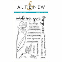 Altenew - Clear Photopolymer Stamps - Wishing You