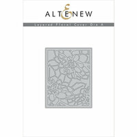 Altenew - Layering Dies - Floral Cover A