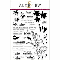 Altenew - Clear Photopolymer Stamps - Extra Special