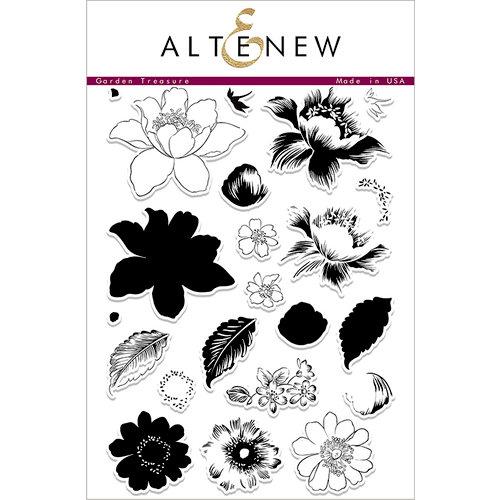 Altenew - Clear Photopolymer Stamps - Garden Treasure