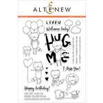 Altenew - Clear Acrylic Stamps - Hug Me
