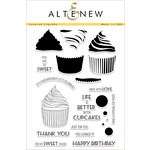 Altenew - Clear Acrylic Stamps - Layered Cupcake