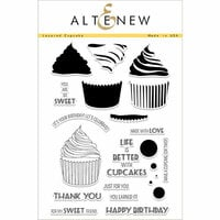 Altenew - Clear Photopolymer Stamps - Layered Cupcake
