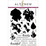 Altenew - Clear Acrylic Stamps - Perennial Beauty
