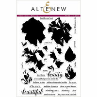 Altenew - Clear Photopolymer Stamps - Perennial Beauty