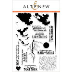Altenew - Clear Acrylic Stamps - Rain or Shine
