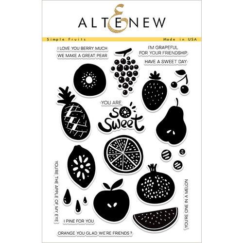 Altenew Simple Fruits Stamp Set
